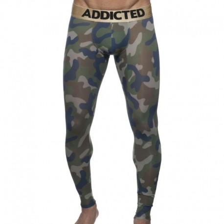 Addicted Camo Long John - Khaki