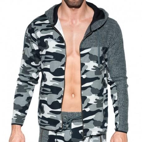 ES Collection Veste Combi Dystopia Camouflage Gris