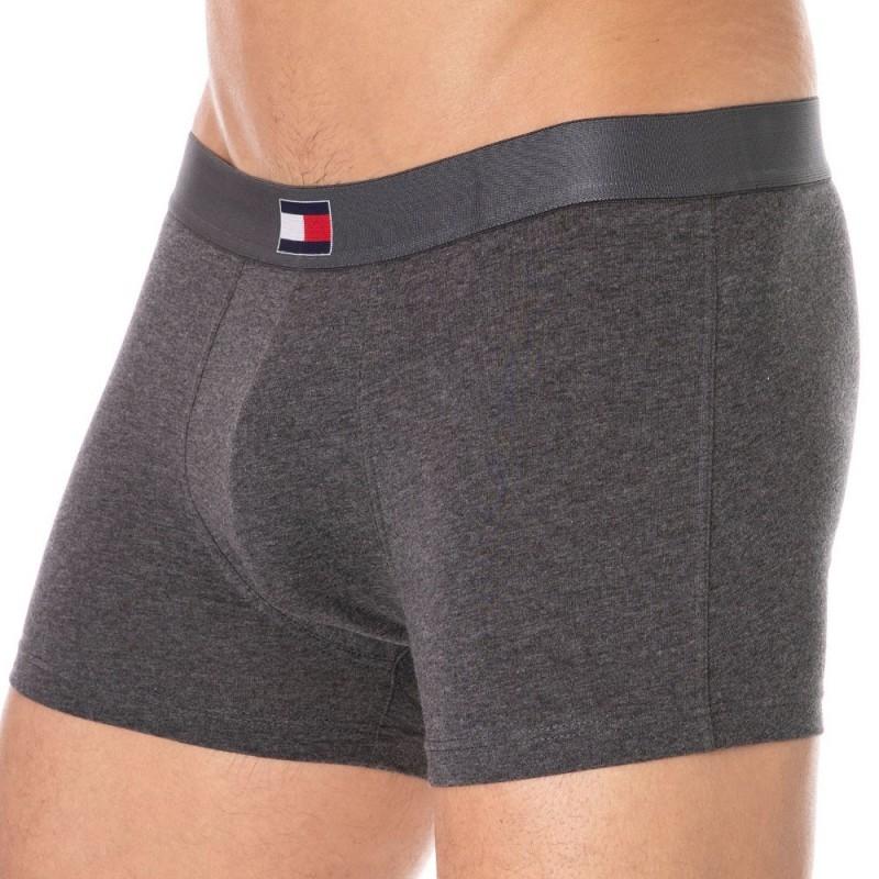 Tommy Hilfiger Boxer Flag Core Cotton Gris