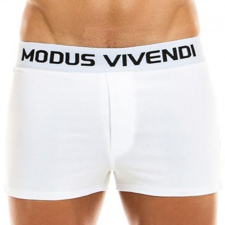 Modus Vivendi Caleçon Classic Blanc