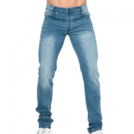 ES Collection Flag Jeans - Indigo