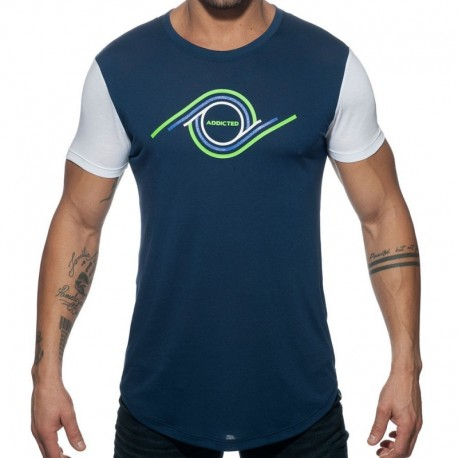 Addicted T-Shirt 69 Marine