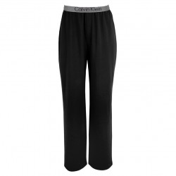 Pantalon Metallic Chrome Cotton Noir Calvin Klein