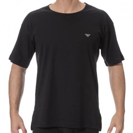 Emporio Armani Metal Eagle T-Shirt - Black