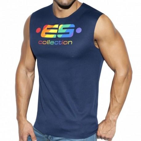 ES Collection Débardeur ES Pride Marine