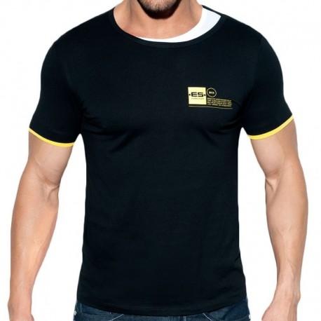ES Collection T-Shirt Double Neck Noir