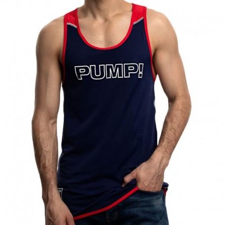 Pump! Débardeur Academy Marine - Rouge