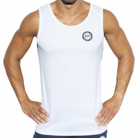 ES Collection Débardeur Training FIT Blanc