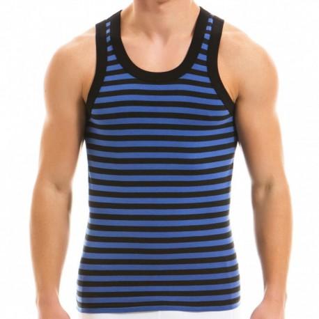 Modus Vivendi Débardeur Striped Bleu