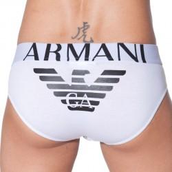 Slip Eagle Stretch Blanc Emporio Armani