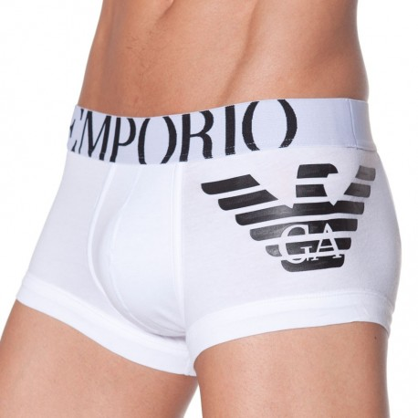 Eagle Stretch Boxer - White