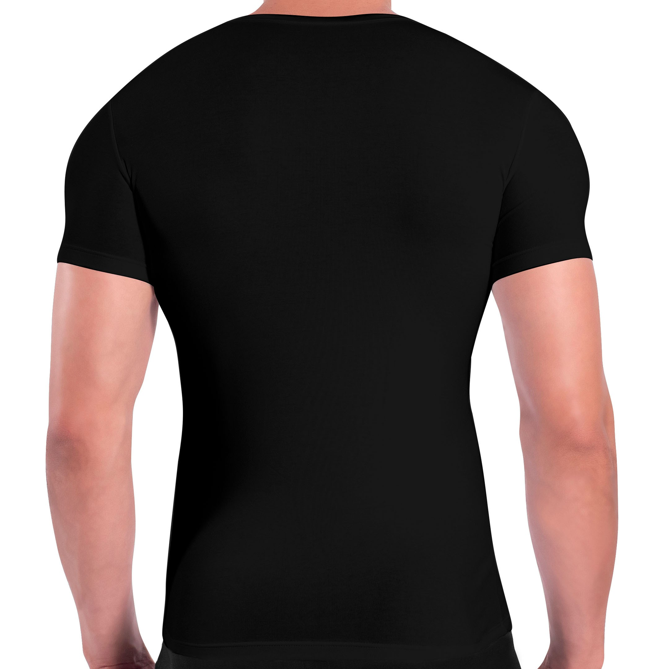 Rounderbum Mens Cotton Compression Tee Shirt
