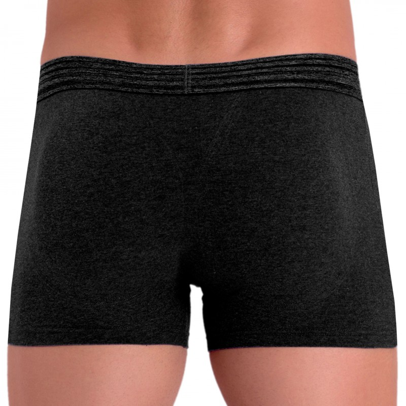 Rounderbum Boxer Long Basic Padded Anthracite