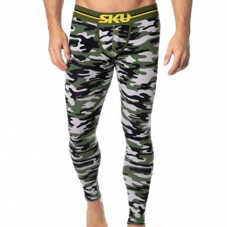 SKU Cotton First Long John - Camouflage