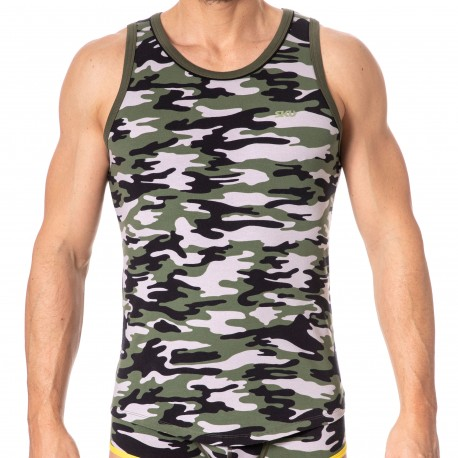 SKU Débardeur First Camouflage