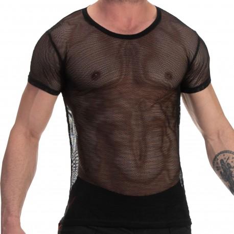 Barcode T-Shirt Malu Noir