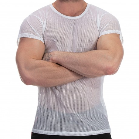 Barcode T-Shirt Malu Blanc