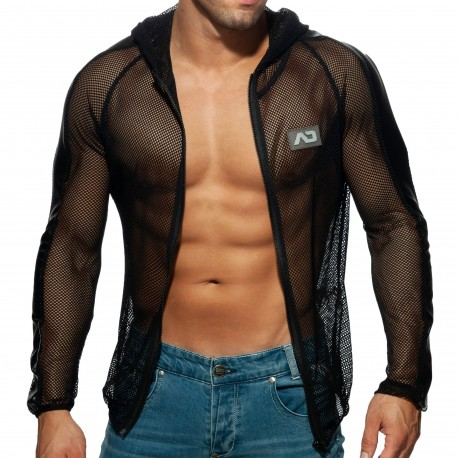 Addicted Mesh Jacket - Black