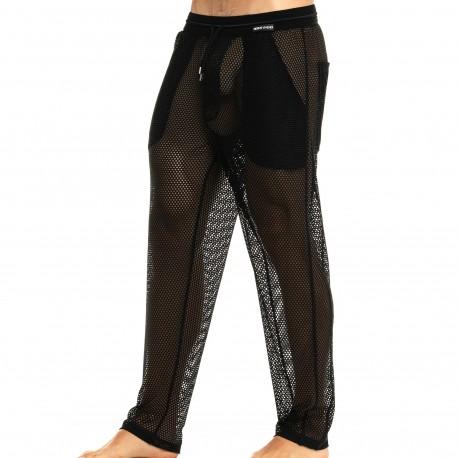 Modus Vivendi Pantalon Camouflage Mesh Noir