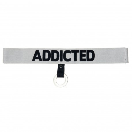 Addicted Waistband with C-Ring - Silver