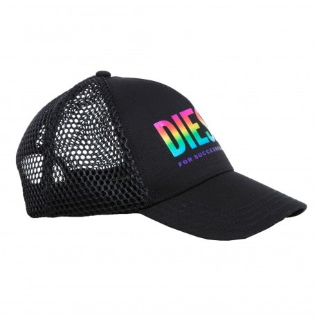 Diesel Casquette Baseball Rainbow Noire