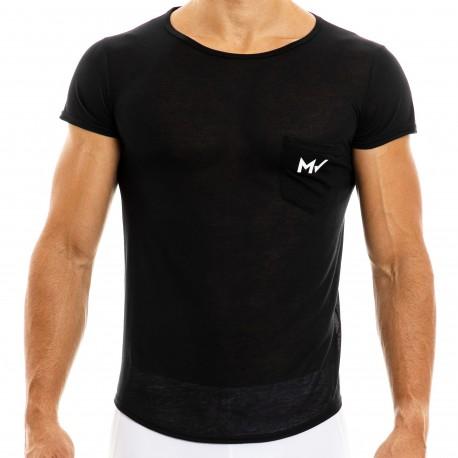 Modus Vivendi T-Shirt Peace Microfibre Noir