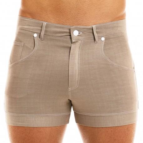 Modus Vivendi Short Jeans Sable