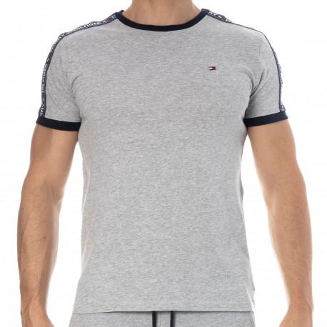 Tommy Hilfiger T-Shirt Authentic Gris Chiné