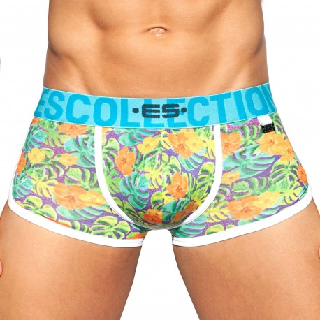 ES Collection Double Side Flowers Trunks - Green