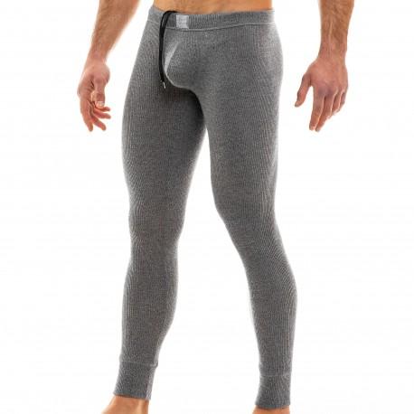 Modus Vivendi Smooth Knit Leggings - Charcoal