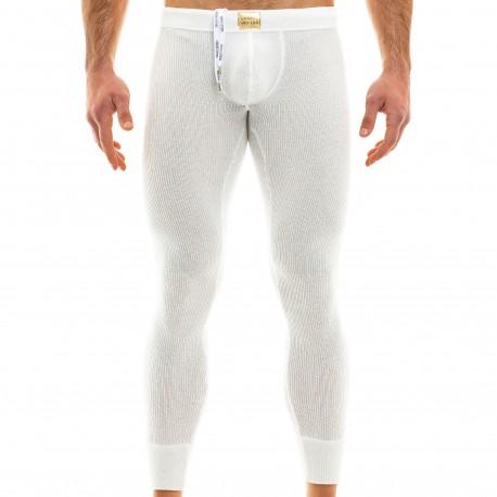 Modus Vivendi Smooth Knit Leggings - Off White