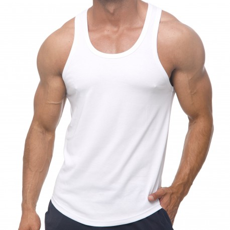 Marcuse Débardeur Avalon Coton Blanc