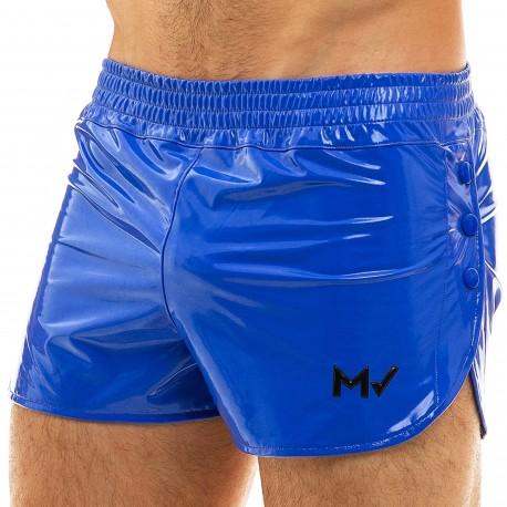 Modus Vivendi Short Viral Vinyle Bleu Roi