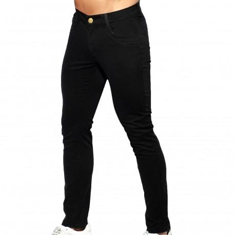 ES Collection Pantalon Slim Fit Noir