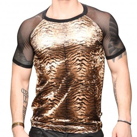 Andrew Christian T-Shirt Plush Tiger