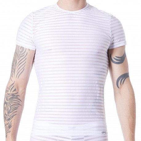 Lookme T-Shirt Transparent Blanc