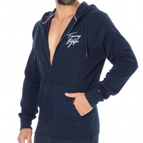 Tommy Hilfiger Signature Logo Vest - Navy