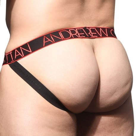 Andrew Christian Jock Strap Inferno Almost Naked Rouge