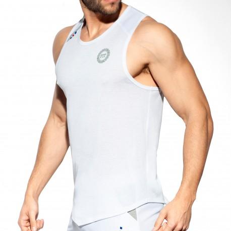 ES Collection Débardeur V Fit Blanc