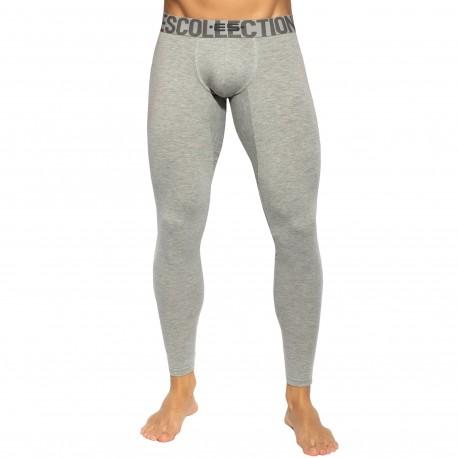 ES Collection Basic Cotton Long John - Grey