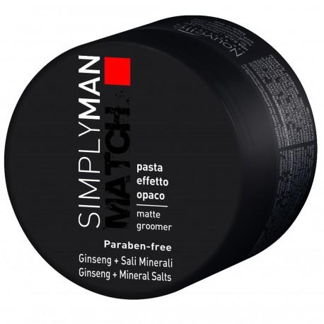 Simply Man Cire de Coiffage Effet Mat - 100 ml