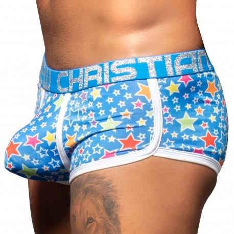 Andrew Christian Boxer Almost Naked Pop Stars Bleu