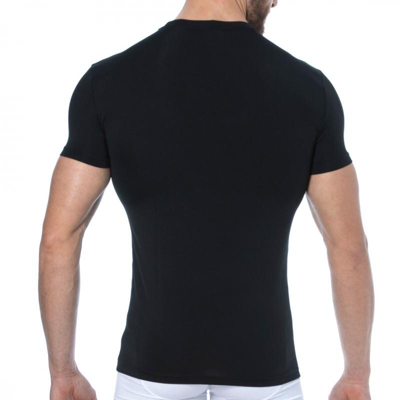 Emporio Armani T-Shirt Microfibre Noir