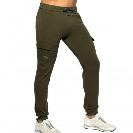 ES Collection Pantalon Pique Kaki