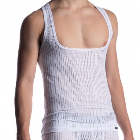 Manstore Débardeur Workout Shirt M2051 Blanc