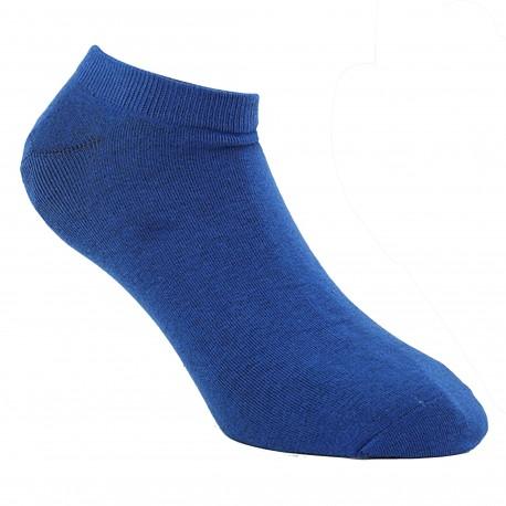 Diesel Lot de 3 Paires de Socquettes Unies - Bleu - Turquoise - Noir