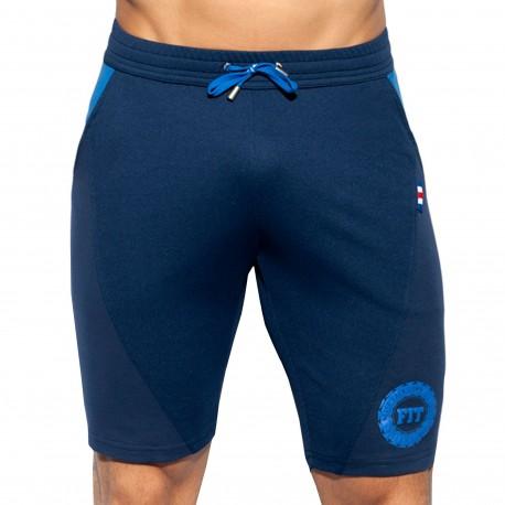 ES Collection Short Fit Flag Bleu Marine