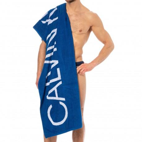 Calvin Klein Drap de Bain Intense Power Bleu