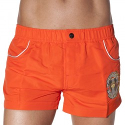 Short de Bain P169 Orange Bikkembergs