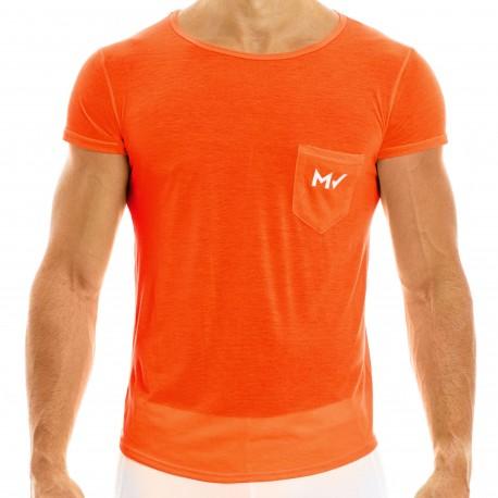 Modus Vivendi T-Shirt Peace Microfibre Orange